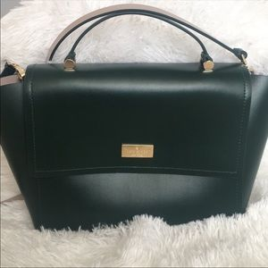 Kate spade leather crossbody with handle